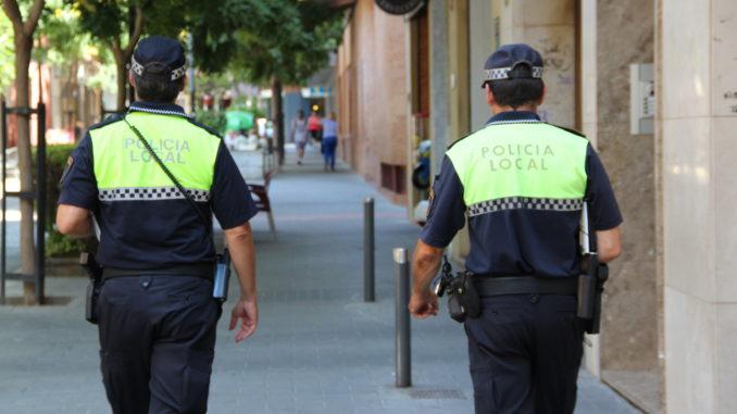Resultado de imagen de policia local san vicente